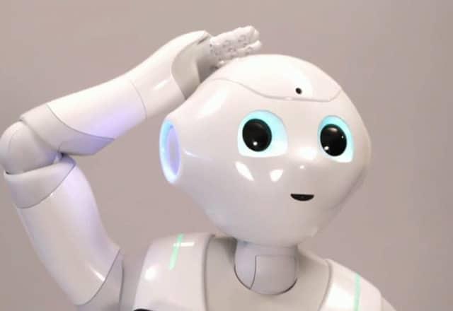 Ausleih Pepper Roboter