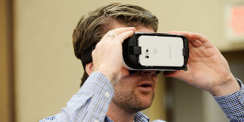 Virtuelle Realität Erfahrung