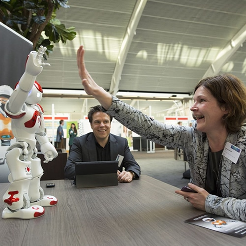 Roboter und Innovations Veranstaltung