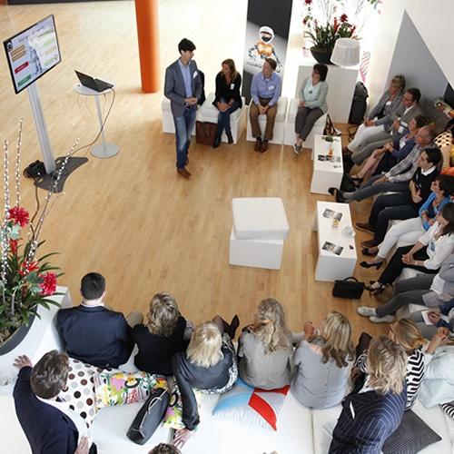 Roboter-Workshop für eine Veranstaltung