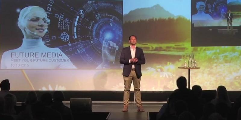 Vortragsveranstaltungen über Roboter und Technologie
