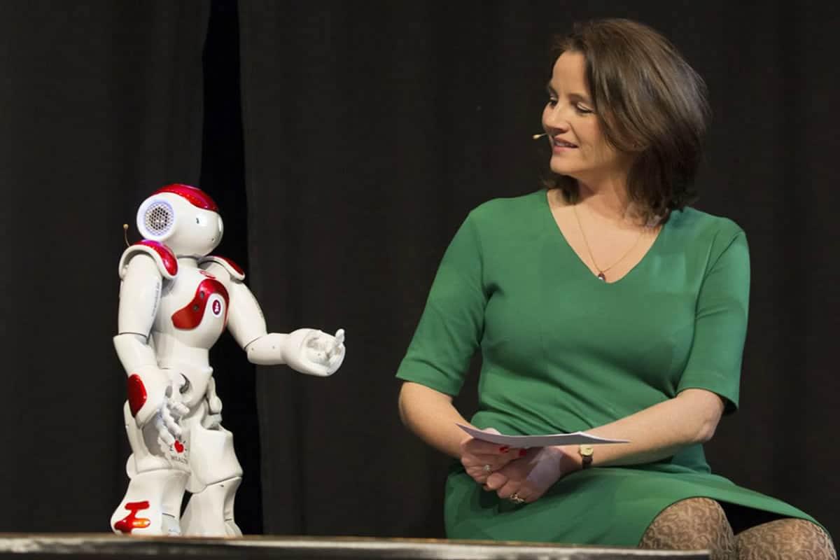 NAO Roboter als Co-Host, Roboter Verleih