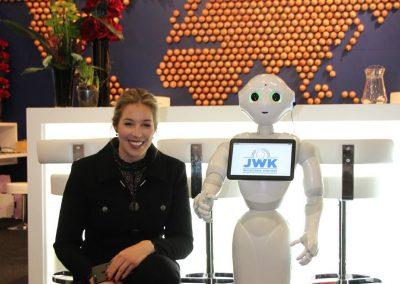 Pepper Roboter Ausstellung Berlin