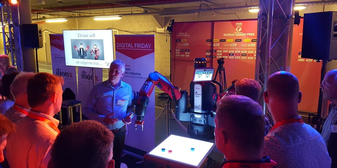 Baxter roboter verleih plus roboter expert