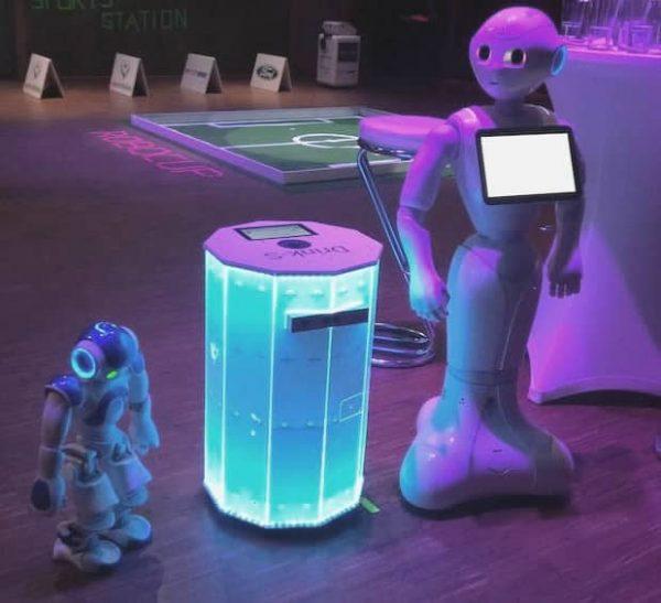 Robotern auf ihren event