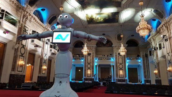 Markenbildung mit ein roboter